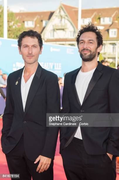 Simon Buret and Olivier Coursier arrives at the Opening Ceremony of the 43rd Deauville American Film Festival on September 1 2017 in Deauville France