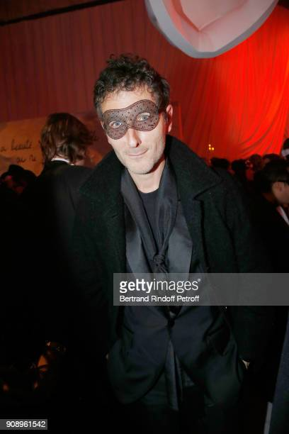 Simon Buret attends Le Bal Surrealiste Dior during Haute Couture Spring Summer 2018 show as part of Paris Fashion Week on January 22 2018 in Paris...