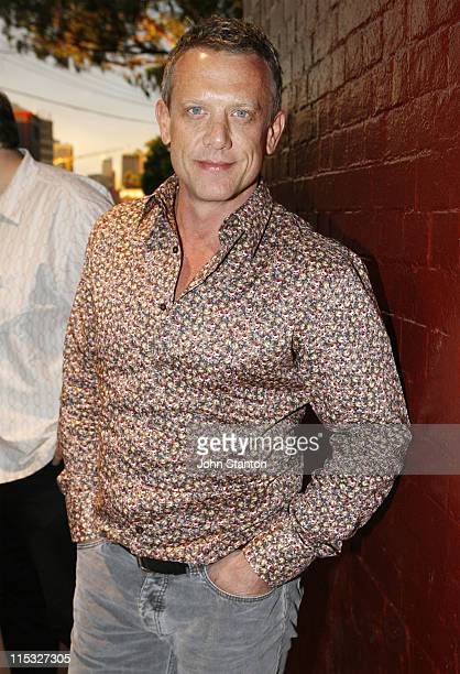 Simon Burke during KEATING The Musical Opening Night November 15 2006 at Belvoir St Theatre in Sydney NSW Australia