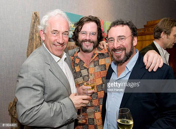 """Simon Callow, Gregory Doran and Anthony Sher attend """"Cries from the Heart"""" presented by Human Rights Watch at the Theatre Royal Haymarket on June 8,..."""
