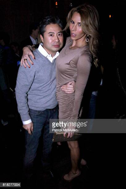 Simon Cho and Amanda Church attend SPY MAGAZINE 15th Anniversary Party hosted by AVENUE at AVENUE on February 18 2010 in New York City