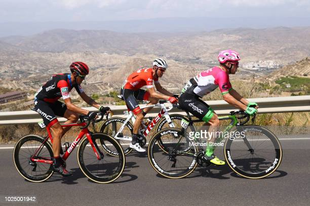 Simon Clarke of Australia and Team EF Education First - Drapac P/B Cannondale / Bauke Mollema of The Netherlands and Team Trek Segafredo / Alessandro...