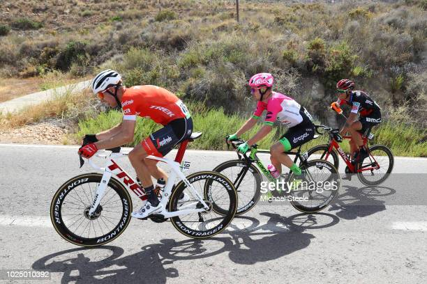 Simon Clarke of Australia and Team EF Education First Drapac P/B Cannondale / Bauke Mollema of The Netherlands and Team Trek Segafredo / Alessandro...