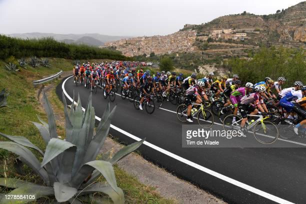 Simon Clarke of Australia and Team EF Pro Cycling / Simon Yates of The United Kingdom and Team Mitchelton Scott / Sean Bennett of The United States...