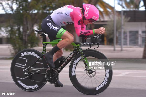 Simon Clarke of Australia during the 53rd TirrenoAdriatico 2018 Stage 7 a 105km Individual Time Trial stage in San Benedetto Del Tronto on March 13...
