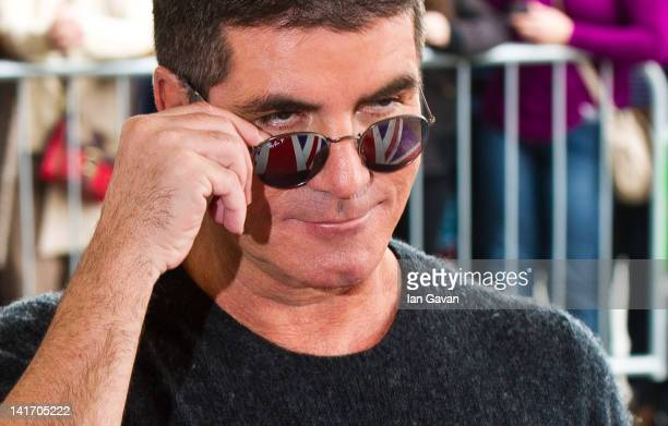 Simon Cowel attends the launch of Britain's Got Talent at BFI Southbank on March 22 2012 in London England