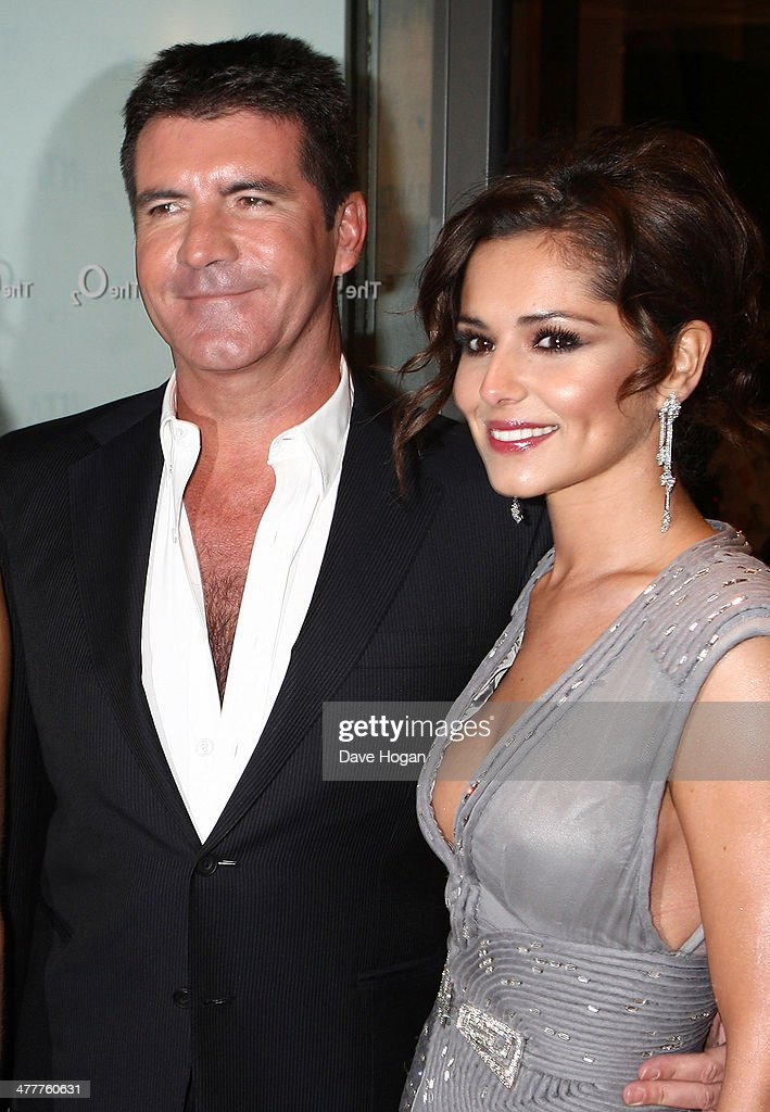 Simon Cowell and Cheryl Cole arrive at the National Television Awards held the at The O2 Arena on January 20, 2010 in London, England. Alternate crop of #95896510