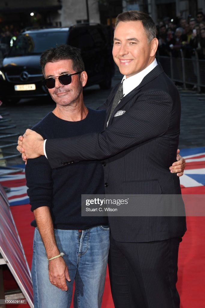 Simon Cowell And David Walliams Attend The Britain S Got Talent 2020 News Photo Getty Images