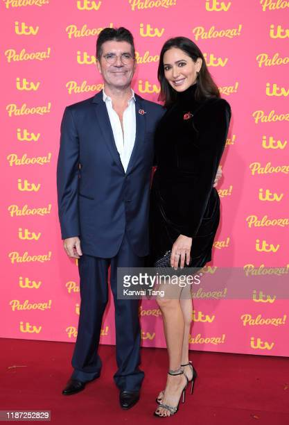 Simon Cowell and Lauren Silverman attend the ITV Palooza 2019 at The Royal Festival Hall on November 12 2019 in London England