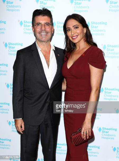 Simon Cowell and Lauren Silverman attend the Shooting Star Ball in Aid of Shooting Star Children's Hospices at Royal Lancaster Hotel on November 08...