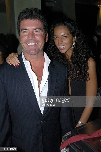 Simon Cowell and Terri Seymour during Fox TCA All Star Party at DolceInside Coverage at Dolce in Los Angeles California United States