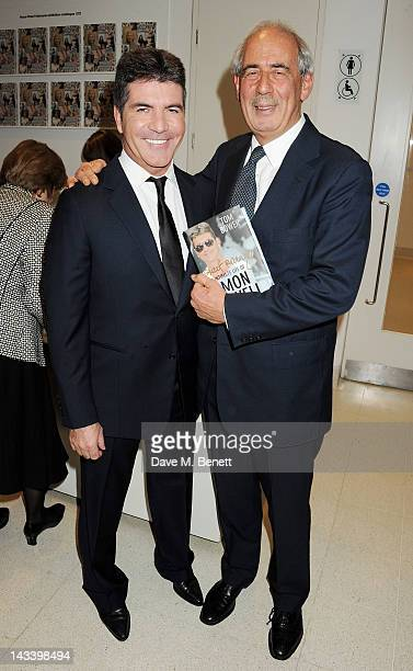 """Simon Cowell and Tom Bower attend a party celebrating the launch of """"Sweet Revenge: The Intimate Life of Simon Cowelll"""" by Tom Bower at The..."""
