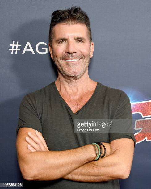 """Simon Cowell arrives at """"America's Got Talent"""" Season 14 Live Show Red Carpet at Dolby Theatre on September 10, 2019 in Hollywood, California."""