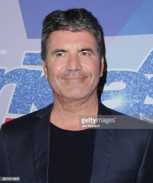 Simon Cowell arrives at NBC's 'America's Got Talent' Season 12 Live Show at Dolby Theatre on August 15 2017 in Hollywood California