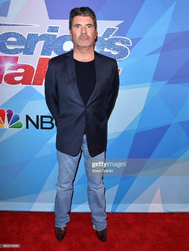 Simon Cowell arrives at the Premiere Of NBC's 'America's Got Talent' Season 12 at Dolby Theatre on August 15, 2017 in Hollywood, California.