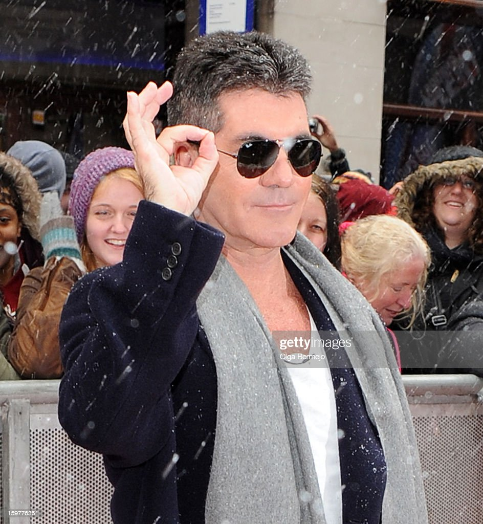 Britain's Got Talent' Sightings In London - January 20, 2013 : News Photo