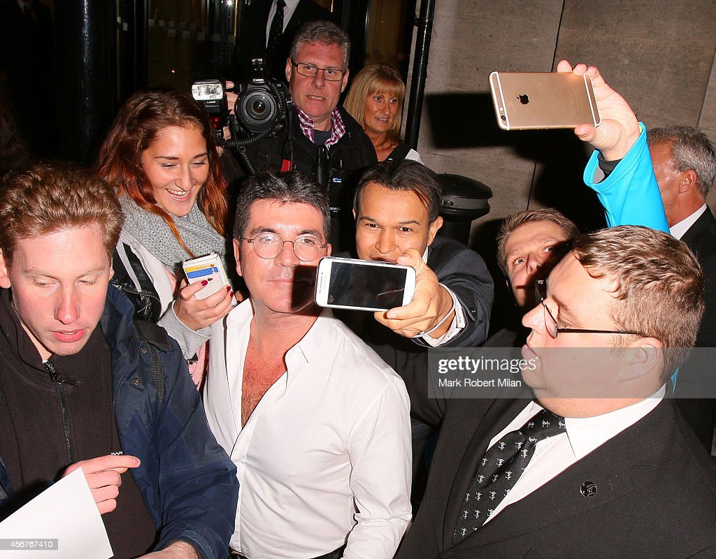 Simon Cowell attend the Pride of Britain awards at The Grosvenor House Hotel on October 6, 2014 in London, England.