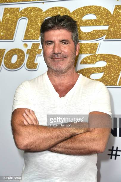 Simon Cowell attends America's Got Talent Season 13 Live Show Red Carpet at Dolby Theatre on September 4 2018 in Hollywood California