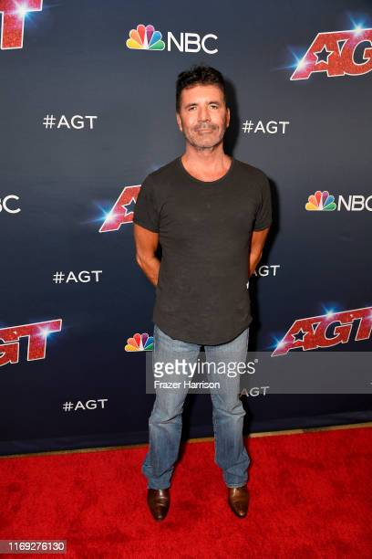 """Simon Cowell attends """"America's Got Talent"""" Season 14 at Dolby Theatre on August 20, 2019 in Hollywood, California."""