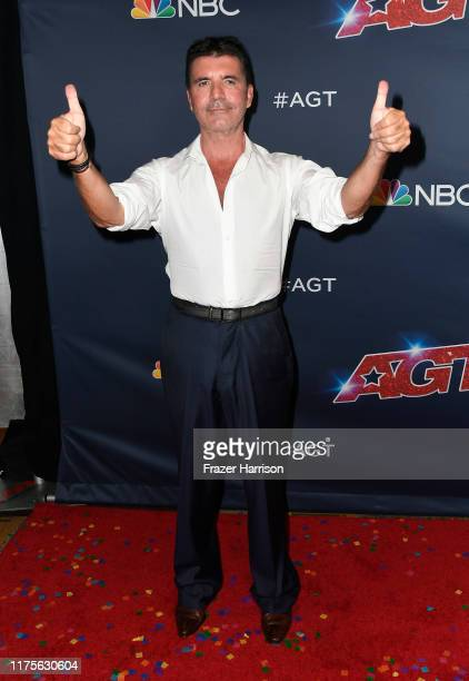 Simon Cowell attends America's Got Talent Season 14 Finale Red Carpet at Dolby Theatre on September 18 2019 in Hollywood California