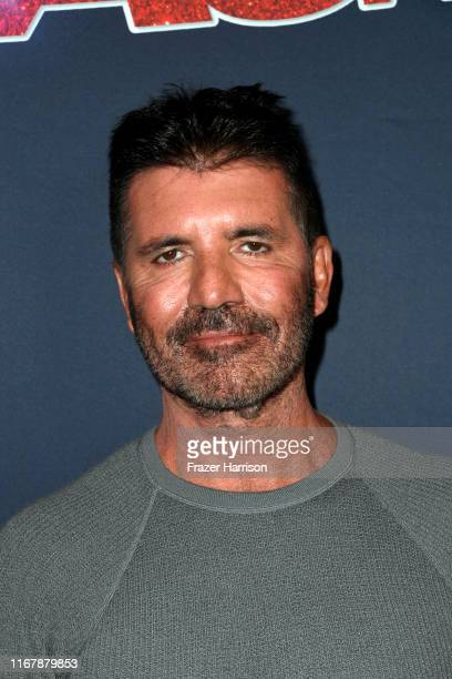 Simon Cowell attends America's Got Talent Season 14 Live Show at Dolby Theatre on August 13 2019 in Hollywood California