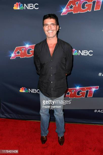 Simon Cowell attends America's Got Talent Season 14 Live Show Red Carpet at Dolby Theatre on September 17 2019 in Hollywood California