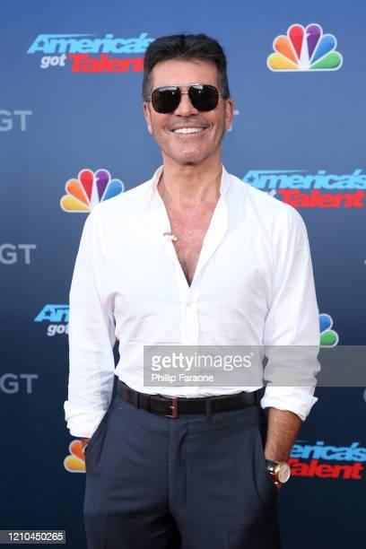 Simon Cowell attends America's Got Talent Season 15 Kickoff at Pasadena Civic Auditorium on March 04 2020 in Pasadena California