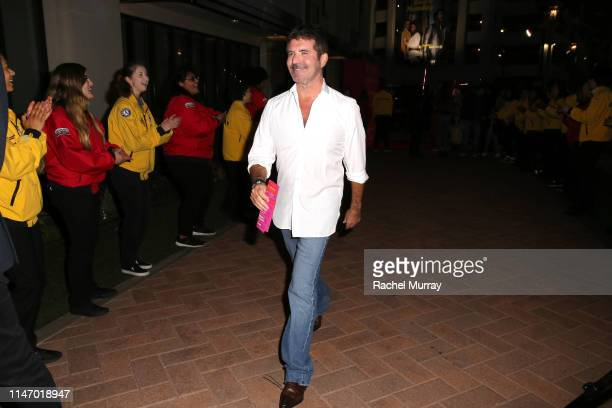 Simon Cowell attends City Year Los Angeles' Spring Break Destination Education at Sony Studios on May 04 2019 in Los Angeles California