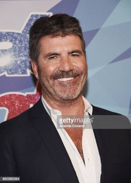 Simon Cowell attends NBC's America's Got Talent Season 12 Finale at the Dolby Theatre on September 20 2017 in Hollywood California