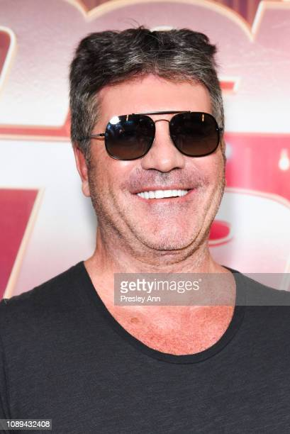 Simon Cowell attends NBC's 'America's Got Talent The Champions' at Sheraton Pasadena Hotel on October 10 2018 in Pasadena California
