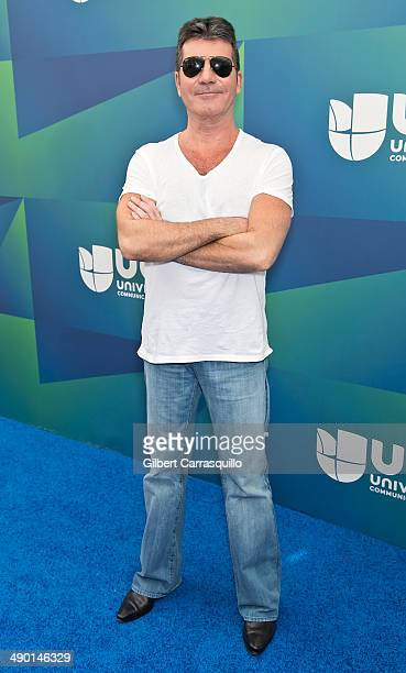 Simon Cowell attends the 2014 Univision Upfront at Gotham Hall on May 13, 2014 in New York City.