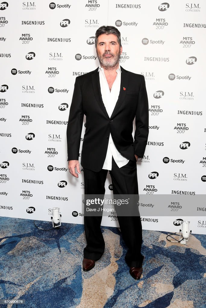 Simon Cowell attends the 26th annual Music Industry Trust Awards held at The Grosvenor House Hotel on November 6, 2017 in London, England.