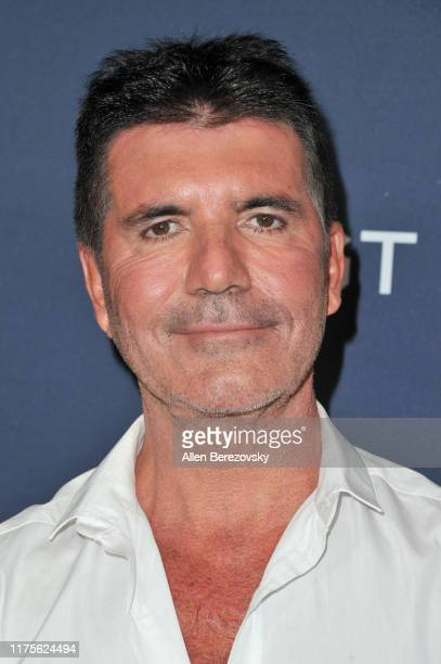 """Simon Cowell attends the """"America's Got Talent"""" Season 14 Finale red carpet at Dolby Theatre on September 18, 2019 in Hollywood, California."""