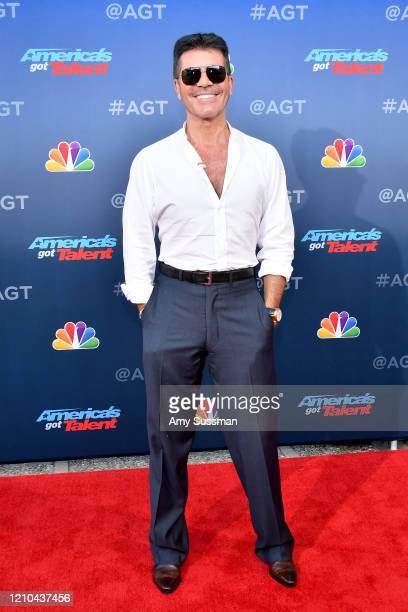 "Simon Cowell attends the ""America's Got Talent"" Season 15 Kickoff at Pasadena Civic Auditorium on March 04, 2020 in Pasadena, California."