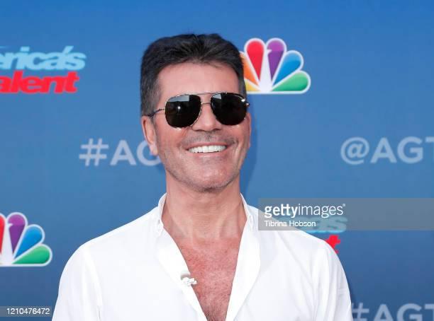 Simon Cowell attends the America's Got Talent Season 15 Kickoff at Pasadena Civic Auditorium on March 04 2020 in Pasadena California