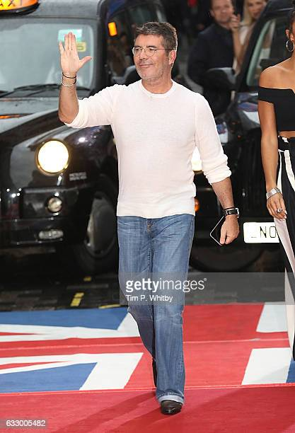 Simon Cowell attends the Britain's Got Talent London Auditions at The London Paladium on January 29 2017 in London United Kingdom