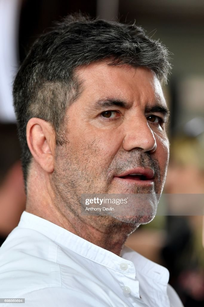 Simon Cowell attends the first day of auditions for the X Factor at The Titanic Hotel on June 20, 2017 in Liverpool, England.