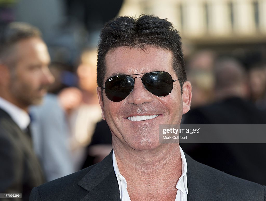 Simon Cowell attends the World Premiere of 'One Direction: This Is Us' at Empire Leicester Square on August 20, 2013 in London, England.