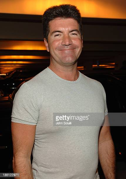 Simon Cowell during Mattel Celebrity Retreat Presented by Backstage Creations at Kids' Choice Awards '05 Day 2 at UCLA Pauley Pavilion in Westwood...