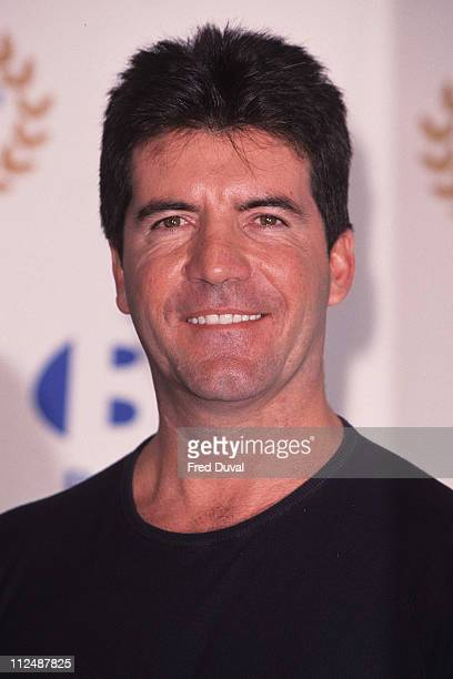 Simon Cowell during Record of the Year 2001 at Hard Rock Cafe in London, United Kingdom.
