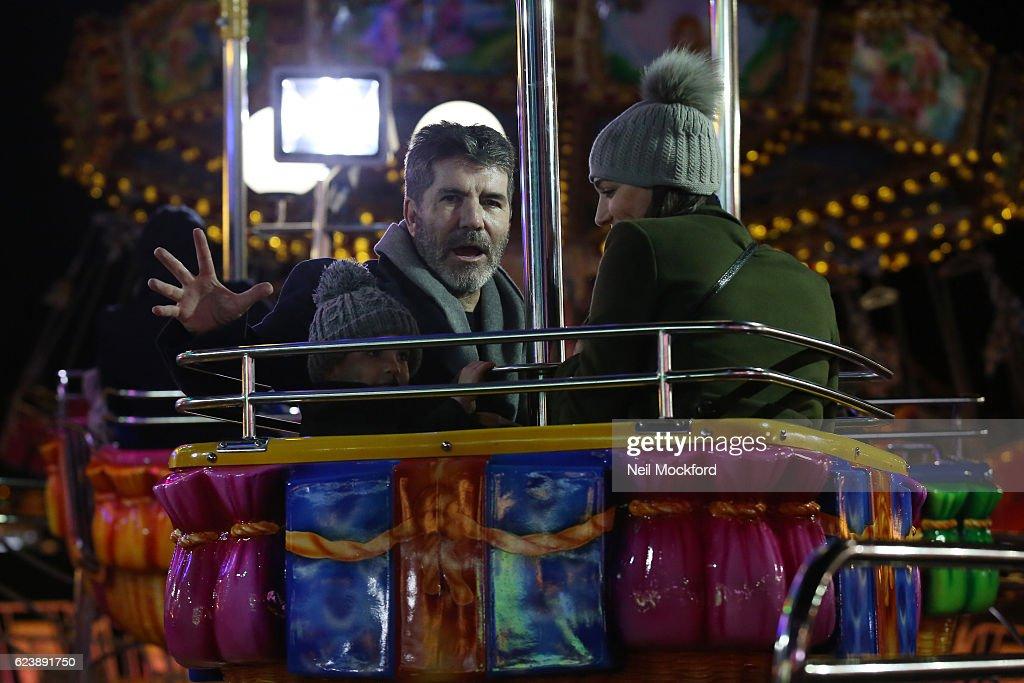 London Celebrity Sightings -  November 17, 2016