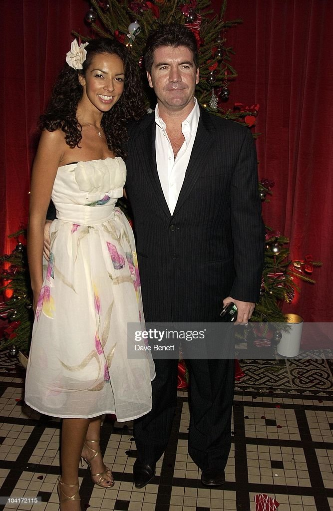Simon Cowell & Girlfriend Terri Seymour, 'Love Actually' Movie Premiere After Party At The In & Out Club, London