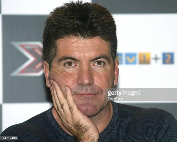 Simon Cowell in London United Kingdom
