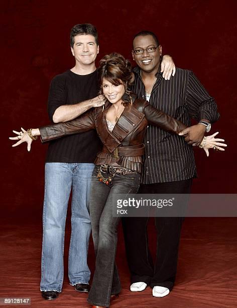 Simon Cowell Paula Abdul and Randy Jackson *EXCLUSIVE*