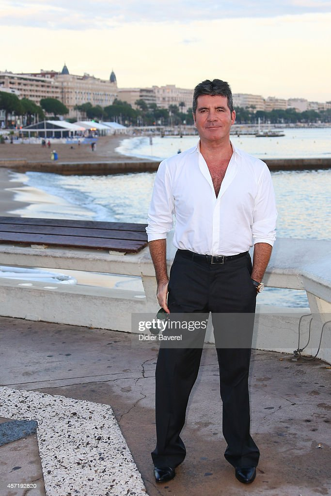Simon Cowell : Photocall - MIPCOM 2014 In Cannes