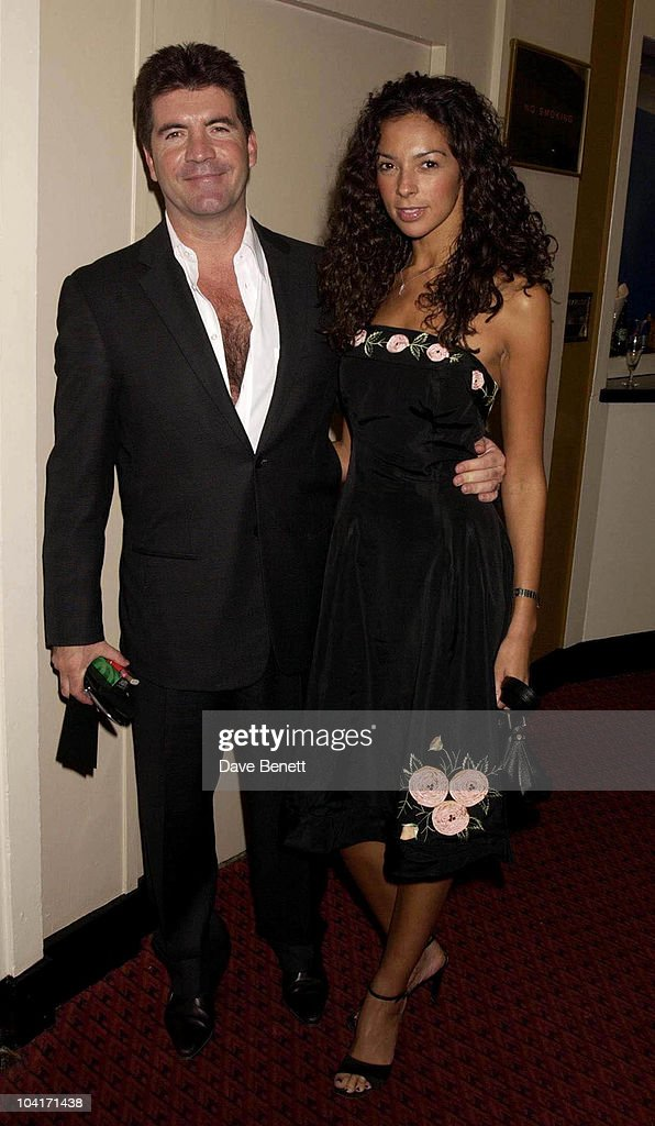 Simon Cowell With Girlfriend Terri Seymour, Jerry Springer Opera In The West End Opens At The Cambridge Theatre In Covent Garden, Then Party At The Whitehall Banquetting Rooms