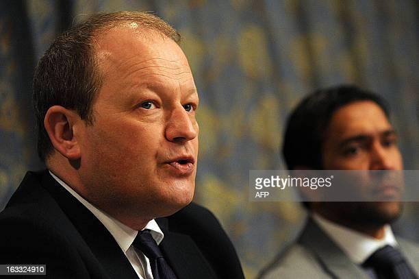 Simon Danczuk a British Member of Parliament accompanying British national Nasir Shaikh the brother of a murdered British tourist Khuram Shaikh...