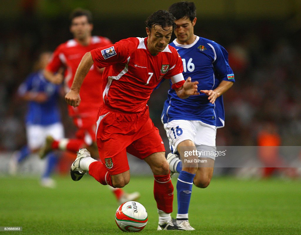 Wales v Azerbaijan - FIFA2010 World Cup Qualifier : News Photo