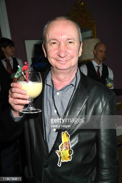 Simon Day attends the opening night of Only Fools and Horses The Musical at Theatre Royal Haymarket on February 19 2019 in London England