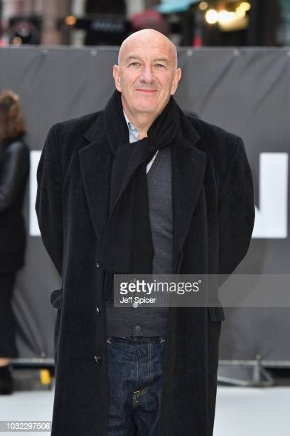 Simon Day attends the World Premiere of 'King Of Thieves' at Vue West End on September 12 2018 in London England